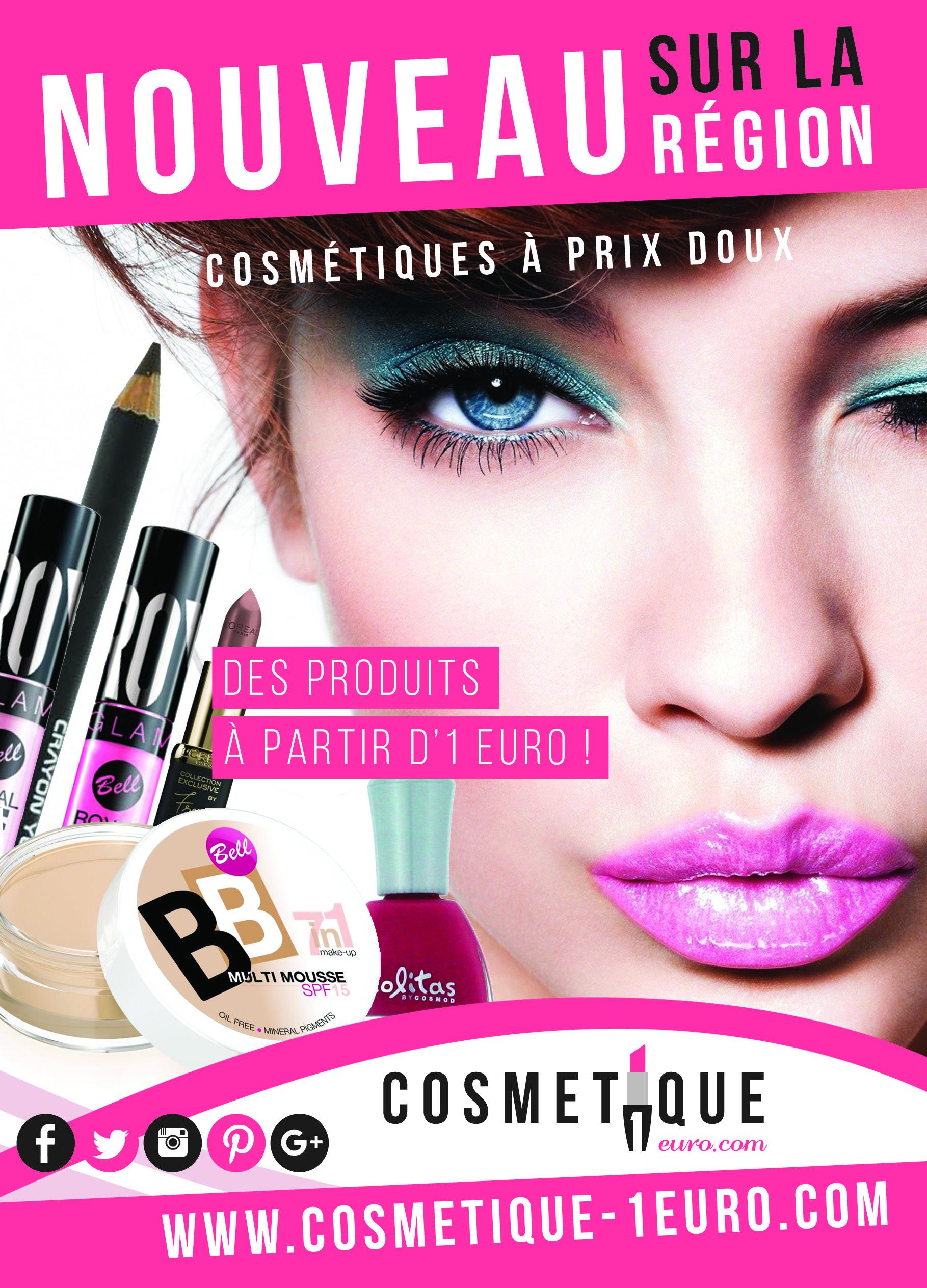 cosmetique 1 euro