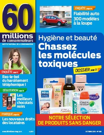 cosmetique 60 millions de consommateur