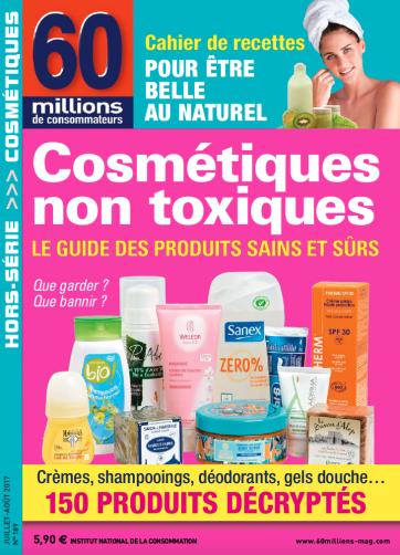 cosmetique 60 millions
