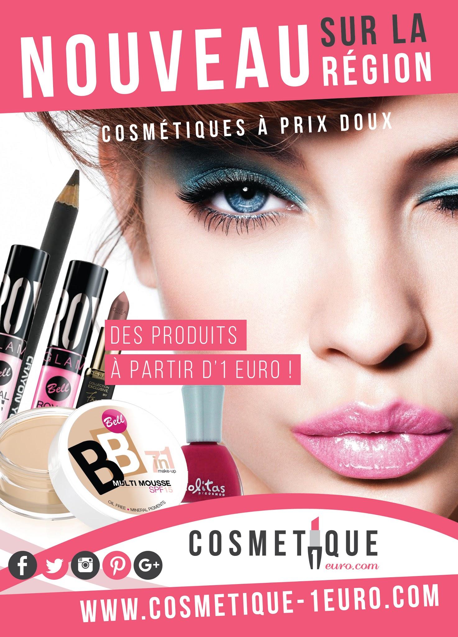 cosmetique a 1 euro