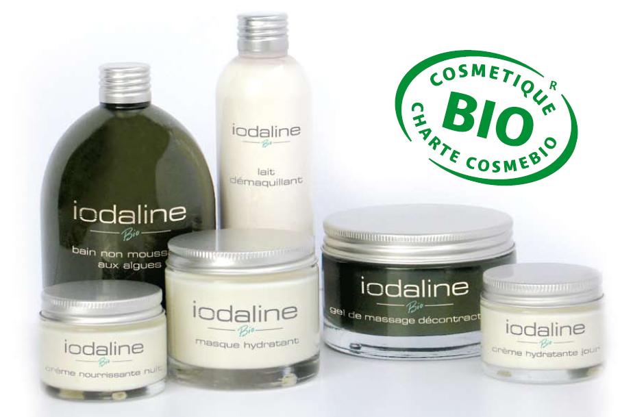 cosmetique a base d'algues