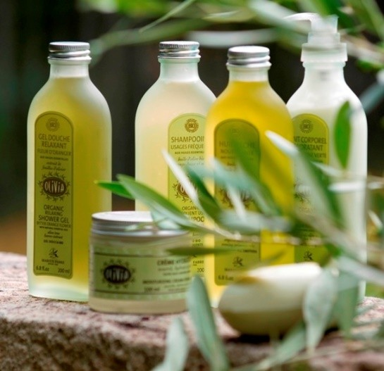 cosmetique a l'huile d'olive
