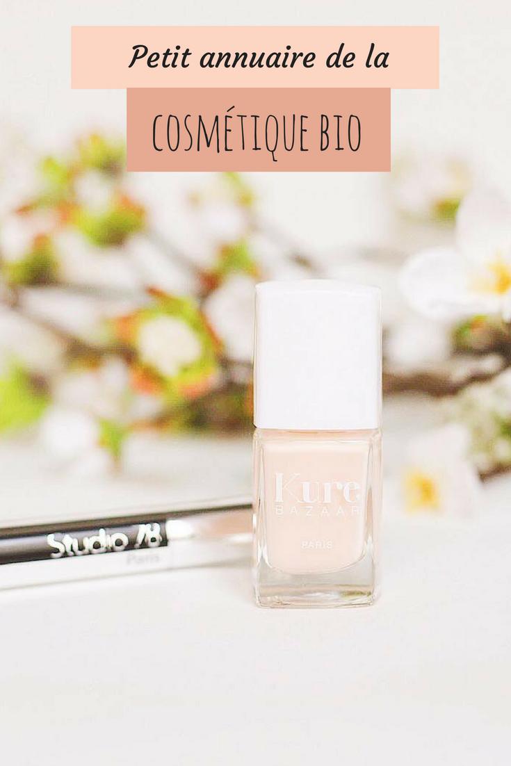 cosmetique bio 2018