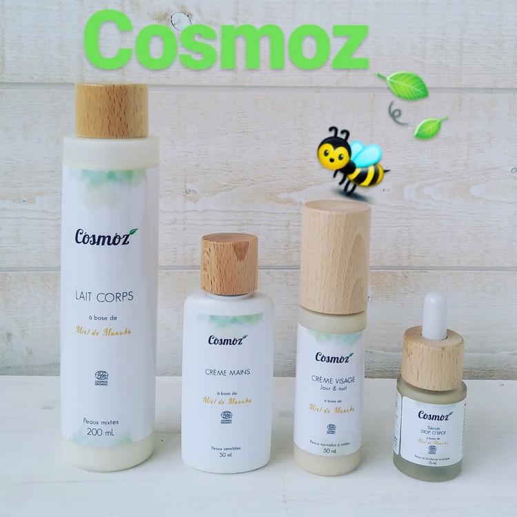 cosmetique bio au miel