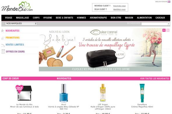cosmetique bio dans le monde
