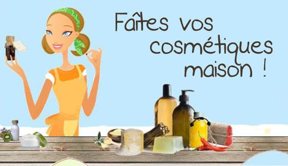 cosmetique bio fait maison
