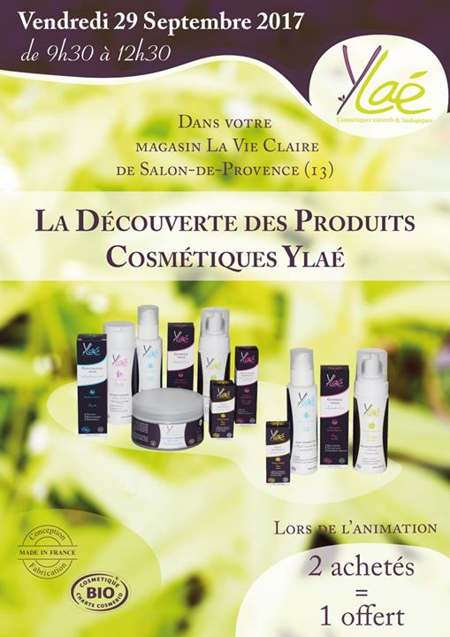 cosmetique bio salon de provence