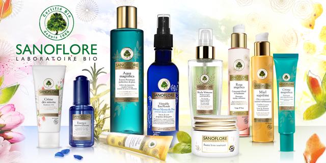 cosmetique bio sanoflore