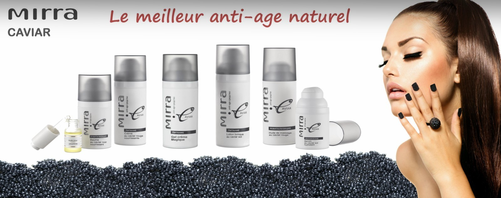 cosmetique caviar