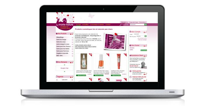 cosmetique e commerce