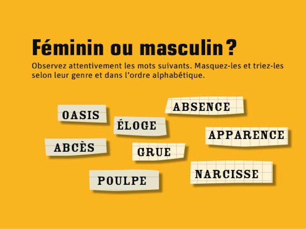 cosmetique feminin ou masculin