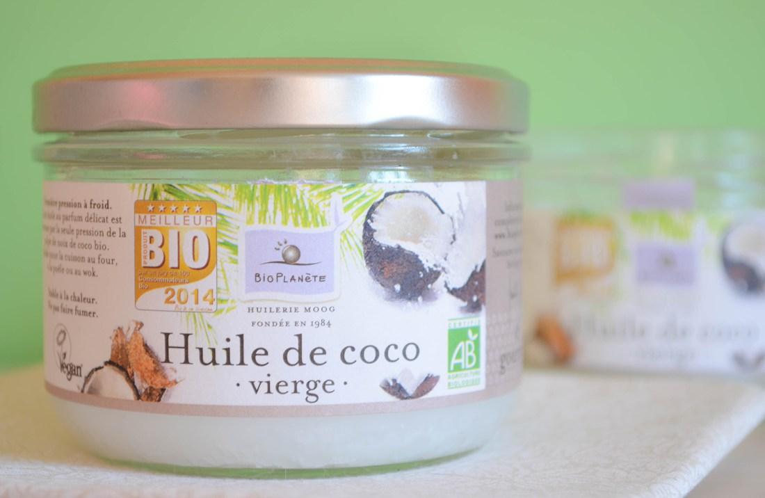 cosmetique huile de coco