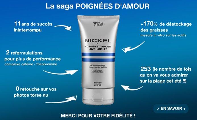 cosmetique nickel