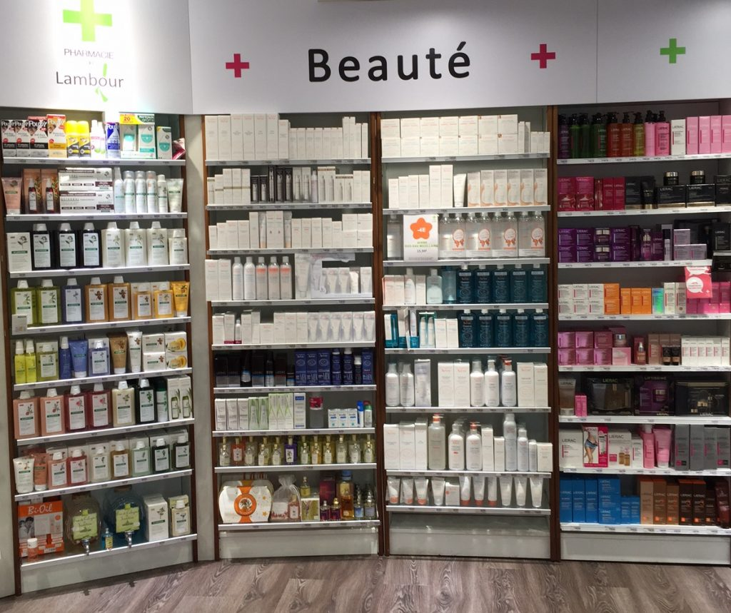 cosmetique pharmacie
