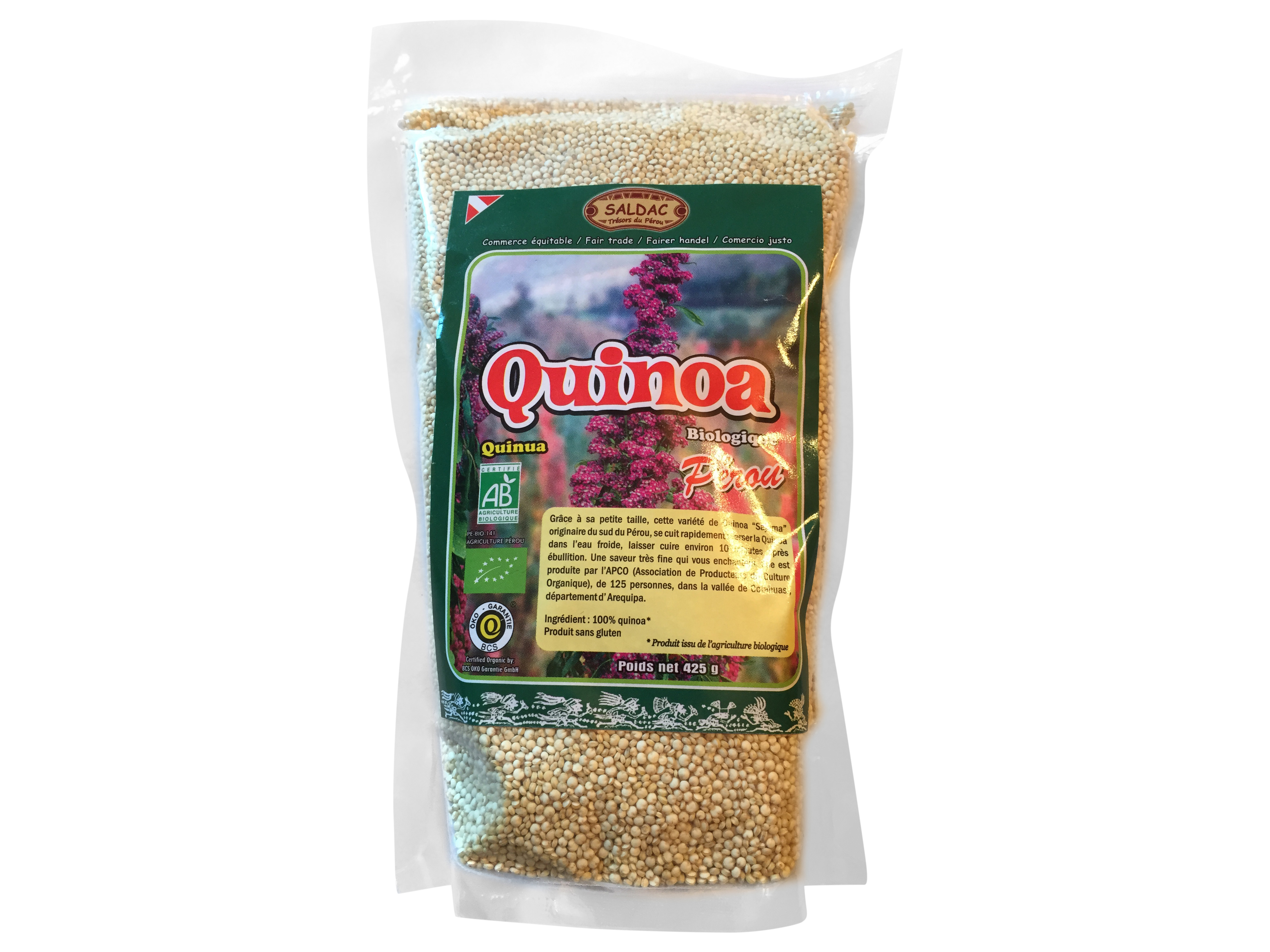 cosmetique quinoa