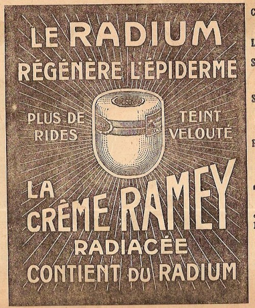 cosmetique radium