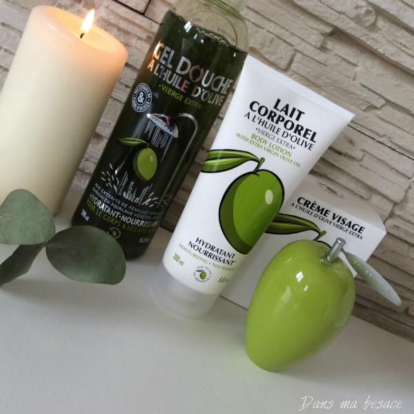 cosmetique une olive en provence