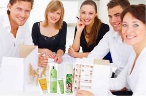 cosmetique vente a domicile