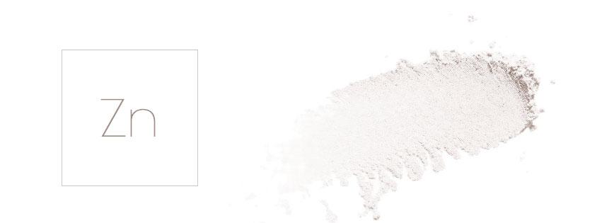 cosmetique zinc